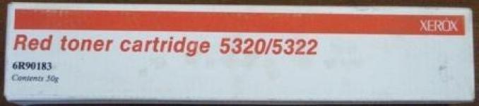 006R90183 Тонер красный (RED) XEROX 5340/5343/5350/5352/5437/5665 распродажа