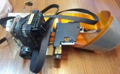Epson DFX 8000 head (головка в сборе+ремень) б/у