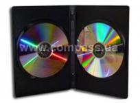 коробочка для CD\DVD for 2 DVD slim