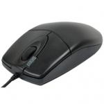 A4 Tech OP620D PS/2 Black optical (колесик-прокрутка, кнопка двойного клика