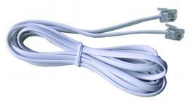 Phone cable RJ-11 (2 контакта) 1 метр