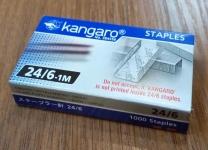скоба степл. 24/6-1m (1000шт) Kangaro