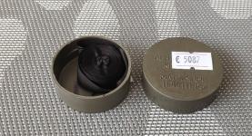 12,7mm* 4,8m STD black in pack (левый переворот)