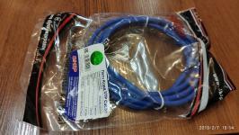 Patch Cord UTP кат.5e 2м Ship синий #S3025BL0200-P