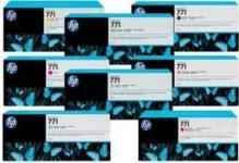 HP B6Y07A for HP 771C, 775 мл, Матово-черный