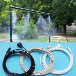 комплект для водяного тумана (12сопел 0.6мм, 11 тройников, переходник 1\2, угловой окончатель, шланг 6м)